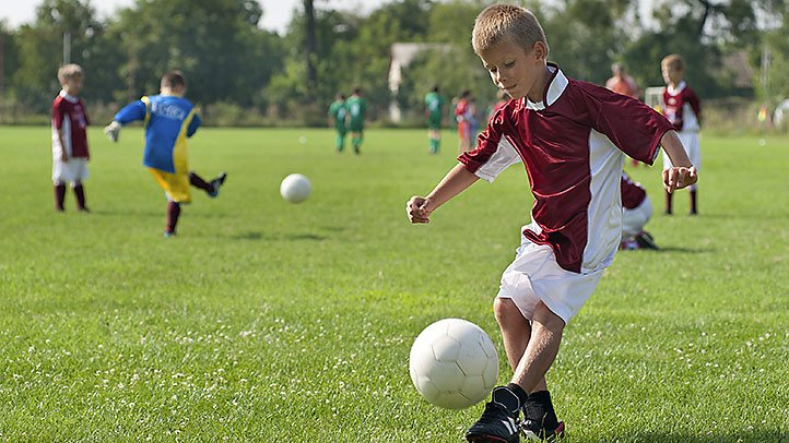 Child's Health Includes Physical And Mental Fitness